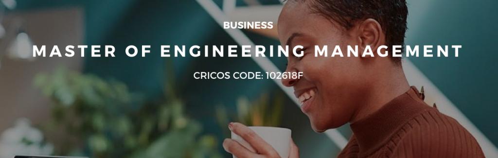 Master of Engineering Management Program